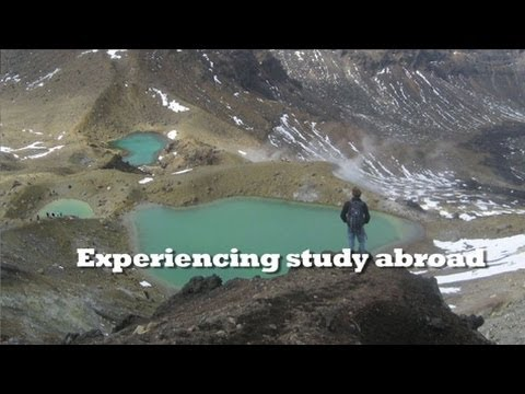 Experiencing study abroad
