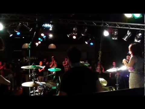 Con gli Upriver sul palco dell'Adelayde pt.1