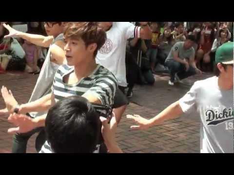 Kim hyun joong nhảy Live tại công viên thành phố NAGOYA Nhật Bản 7/2012