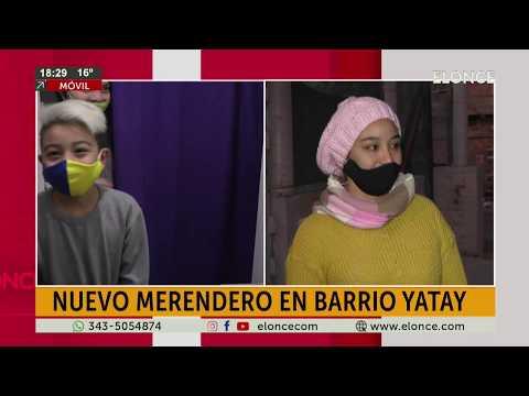 Inauguraron un merendero en Paraná y piden donaciones para los más pequeños