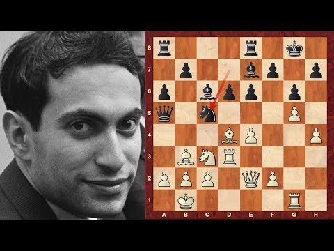 Chess World.net: GM Mikhail Tal with White at the 1966 Havana Olympiad