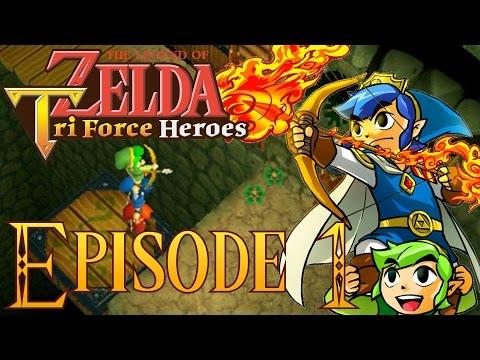 Let's Play Episode 1 Demo ZELDA TRIFORCE HEROES Nintendo 3DS Français FR - UCLzhly43KD3s9fdh7Se5p_g