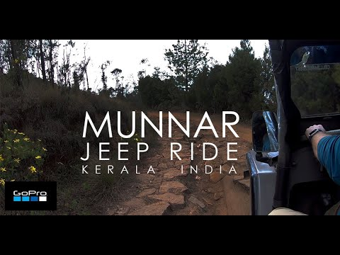 Jeep Adventure Ride - Munnar Trekking - GoPro Hero 7 Black 1080p