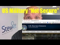 """Google says US Military """"Not Secure"""""""