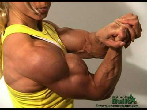 FBB Johanna's Ripped Biceps