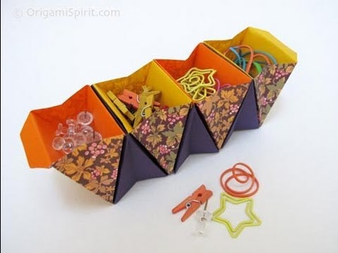 How to Make an Origami Accordion Box