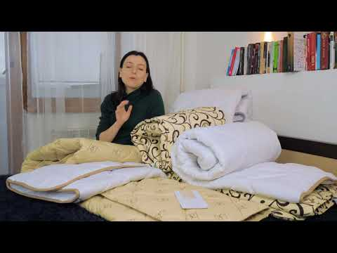 Одеяло шерстяное №024 ЗИМНЕЕ Чехол Тик Camel