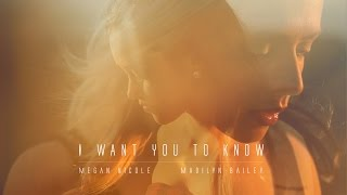 I Want You To Know Zedd ft Selena Gomez - Madilyn Bailey & Megan Nicole - (Acoustic Version)