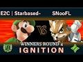 Ignition #80 WINNERS ROUND 4 - E2C | StarbasedFruit (Luigi) vs SNooFL (Fox)
