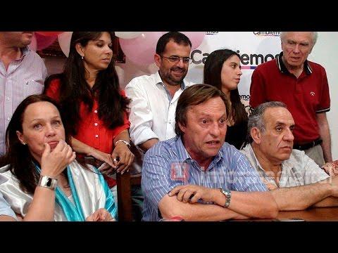 <b>Paran�.</b> Cambiemos celebr� la victoria de Macri