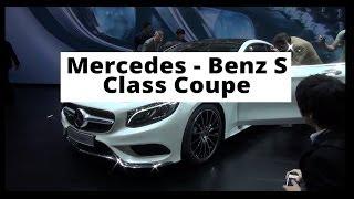 Genewa 2014 - Mercedes - Benz S Class Coupe - kr�tka prezentacja