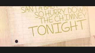 Santa Baby - Megan Nicole (lyric video)