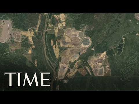 Google Timelapse: Extreme Resources