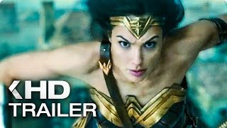 WONDER WOMAN NEW Spots & Trailer (2017)