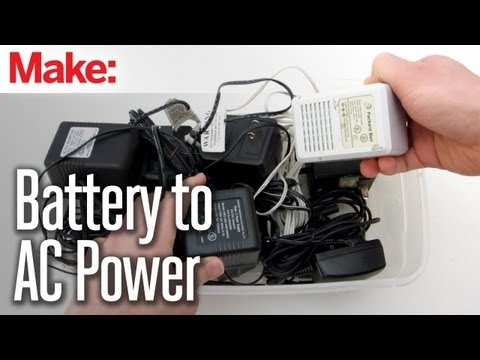 DIY Hacks & How To's: Convert a Battery-Powered Device to AC Power - UChtY6O8Ahw2cz05PS2GhUbg