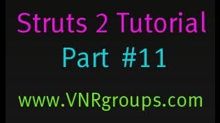 Struts 2 Tutorial Part 11 - Login Action