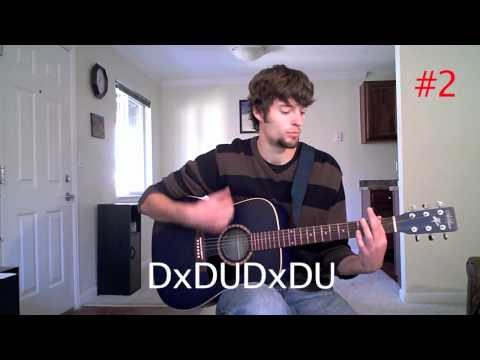 Strumming Patterns Guitar Lesson