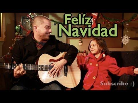 Feliz Navidad - Jose Feliciano Acoustic Cover (Jorge and Alexa Narvaez)