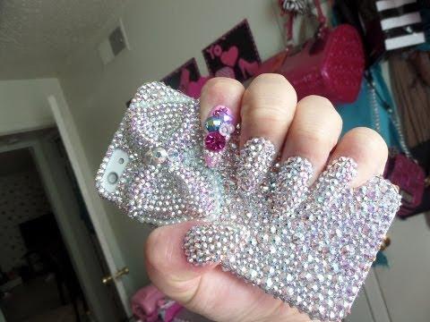 decoracion de uñas 2014 - 2015 diseños con cristales (piedras ...