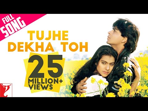 &quot;Tujhe Dekha To&quot; - Song - DILWALE DULHANIA LE JAYENGE -r7NVIwO8_pI