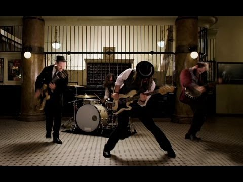 "The Silent Comedy - ""Blood On The Rails"" Official Video"