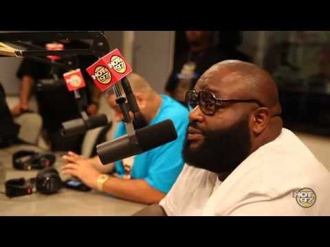 Rick Ross & DJ Khaled get ready for Summer Jam 2012 with Funkmaster Flex