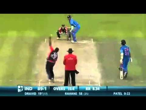 "Rahul Dravid Hits ""Hatrick SIX"" Against England In His First And Last T20 Match *HD*"