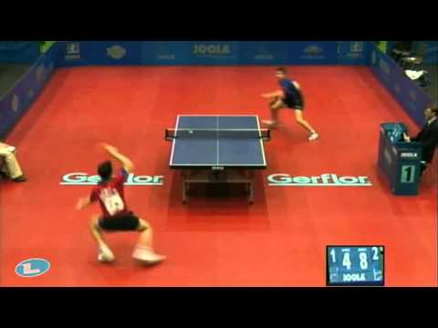 Simon Gauzy vs Quentin Robinot[2011 UNIQA Europe Youth Top 10]