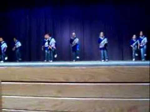 Kenndey 4th & 5th grade Step Team