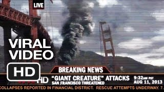 Pacific Rim Viral Video - Breaking News: Kaiju Attack (2013) - Guillermo Del Toro Movie HD