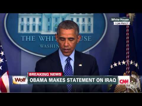 Obama: No combat for U.S. troops in   (Iraq)     6/19/14