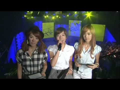 HD SNSD Sunny Hyoyeon Jessica MC cut , The M Aug27.2009 GIRLS' GENERATION 720P