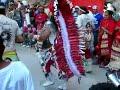 danza apache en la sierrita de gamon, durango, mexico