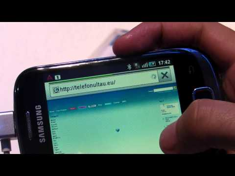 MWC2011 -  Samsung Galaxy Fit S5670 review HD ( in Romana )