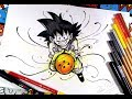 DESENHANDO GOKU KID (DRAGON BALL) #ARTEECIABRASIL
