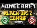 Minecraft 1.6.4 - ZOMBIE BLACK OPS 2 -  MOD