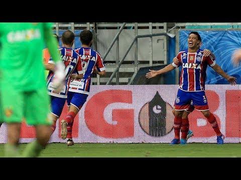 Veja o gol de Bahia 1 x 0 Sport