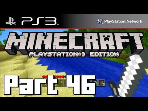 Lets Play Minecraft PS3 Edition - Part 46 - TRAPPED IN THE NETHER! ( PS3 )