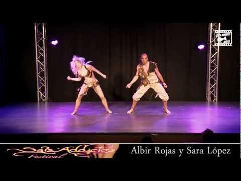 Albir Rojas & Sara López - KiZOMBA SHOW @ Sals'Addictos Festival 2012