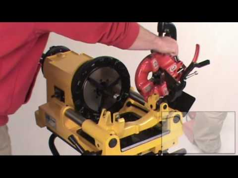 SDT 300 Compact Pipe Threading Machine fits Ridgid 67182