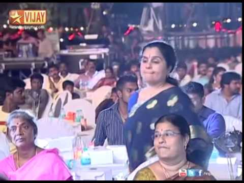 Sreeja , Senthil , Rajasekar And Kuyili Vijay Television Awards 2014 Favourite Supporting Actor