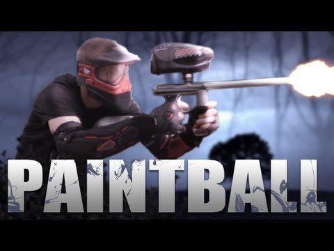 REAL LIFE CALL OF DUTY! (Paintballing Montage)