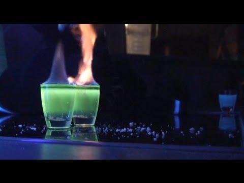 Cool Flaming Shot