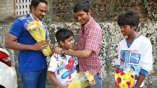 Watch Dhanush Gifted Gold Chains To Kaakka Muttai National Award Winners Red Pix tv Kollywood News 27/Mar/2015 online