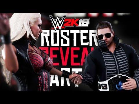WWE 2K18 Roster Reveal - 37 New Superstars & NEW Screenshots! - UC3bcU_s3idk9sIjXkp5KZ_Q