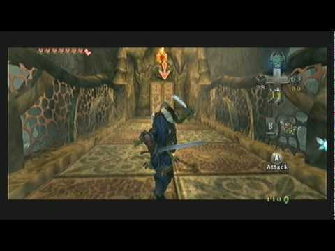 "Legend of Zelda Twilight Princess Walkthrough 10 (1/6) ""Lakebed Temple: Lower West"""