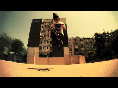BMX Bruno Hoffmann time warped into slow motion - Part 3