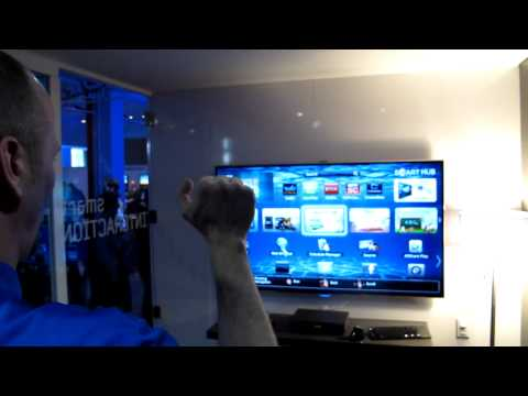 Samsung Gesture Controlled Smart TV