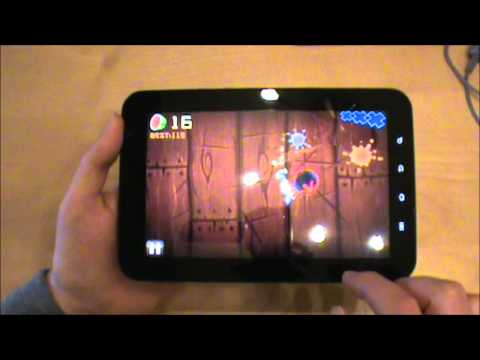 Samsung Galaxy Tab Game Demos