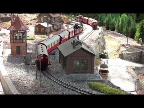 HSB Gartenbahn 14-08-2011 Teil 1 / 3 mit Combino DUO